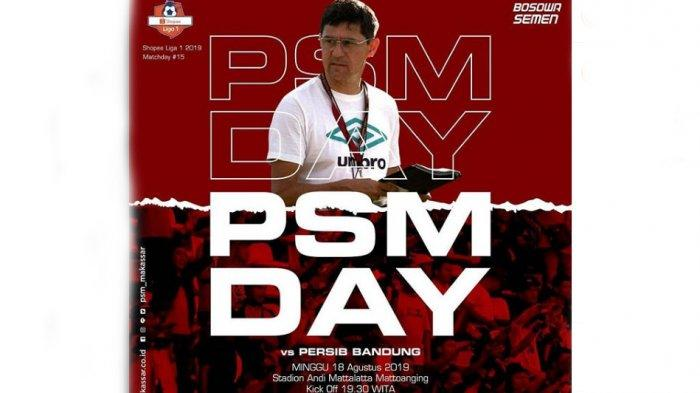 LIVE Indosiar Prediksi Skor PSM Vs Persib Bandung Big Match Shoppe Liga 1 & H2H Jam 18:30 WIB