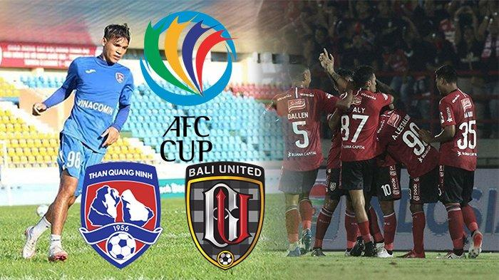 LIVE iNews Tv Live Streaming Bali United VsThan Quang Ninh Piala AFC 2020, RencanaStefano Cugurra