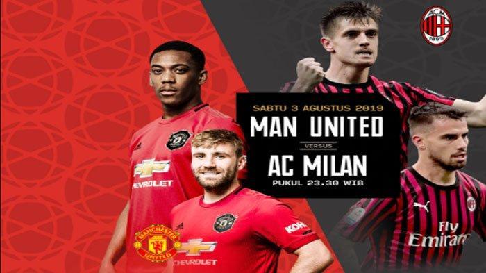 LIVE Mola TV Manchester United Vs AC Milan Solskjaer Turunkan Juan Mata, Marcus Rashford dan Martial