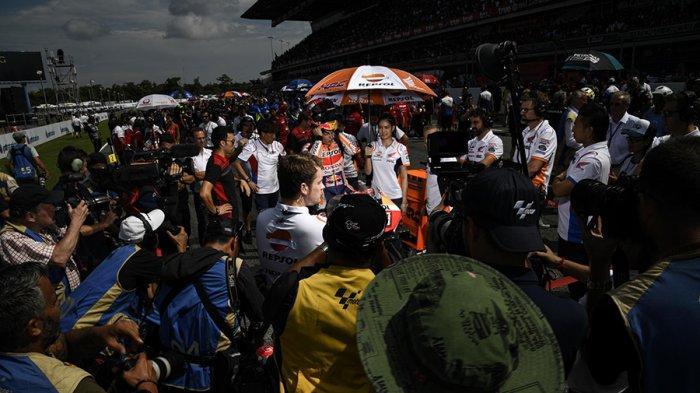 LIVE MotoGP 2019 Trans7 di Sirkuit Twin Ring Motegi Jepang Minggu (20/10), Dominasi Marc Marquez