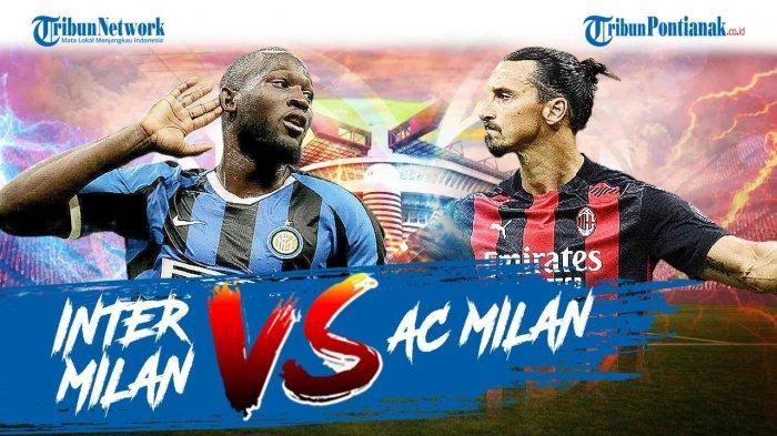Live Streaming RCTI Inter Milan Vs AC Milan – Ada Zlatan Ibrahimovic, Arturo Vidal dan Romelu Lukaku