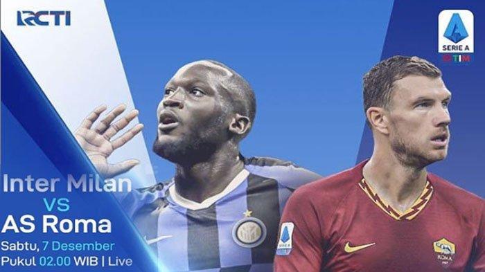 Live RCTI+ Inter Vs Roma Malam Ini - Antonio Conte Turunkan Duet Maut Lautaro Martinez dan Lukaku