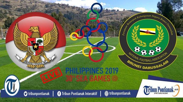 Prediksi Indonesia vs Brunei dan Laos Bola Sea Games 2019 - Peluang Timnas ke Semifinal, Lumbung Gol