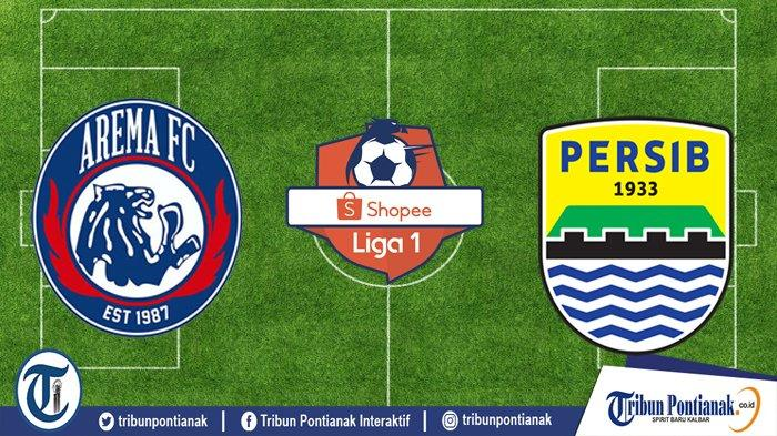 LIVE REPORT: Laga Panas AREMA Vs PERSIB Live SHOPEE Liga 1 Jam 18.30 WIB! Bus Tim Persib Dapat Teror