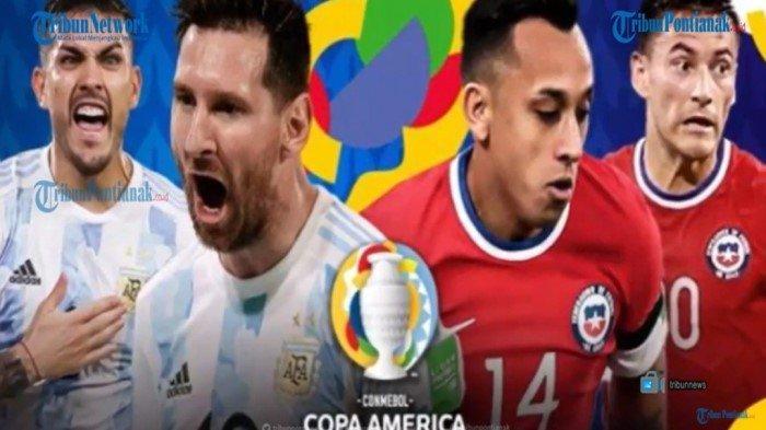 Live Score Argentina Vs Chile Copa America 2021 Live Indosiar dan Update Klasemen Copa America 2021