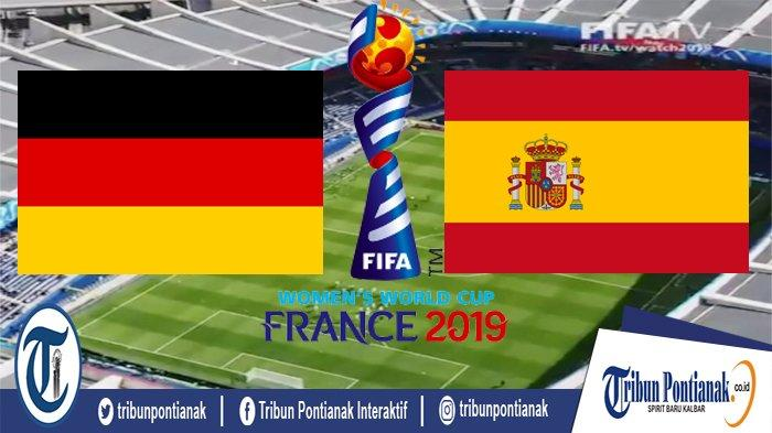 LIVE SCORE Jerman Vs Spanyol | 2 Tim Unggulan Juara Bentrok di Fase Grup B World Cup Women Malam Ini