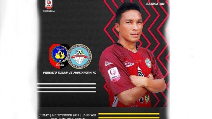 LIVE SCORE Persatu Tuban Vs Martapura FC Liga 2 2019 Sore Ini, Hattrick Menang Laskar Sultan Adam?
