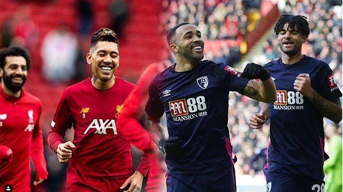 LIVE Stream Liverpool Vs Bournemouth Live Mola Tv, Ujian Salah Dkk Menuju Gelar Juara Liga Inggris