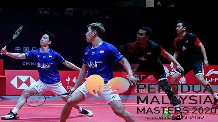 LIVE Stream Perodua Malaysia Masters 2020, Ada Aksi Markus/Kevin Hingga Jonatan Christie