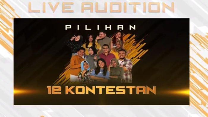 LIVE STREAM Rising Star Live Audition 6 LIVE RCTI Jam 21.30 WIB! 12 Kontestan & Keseruan Audition 5