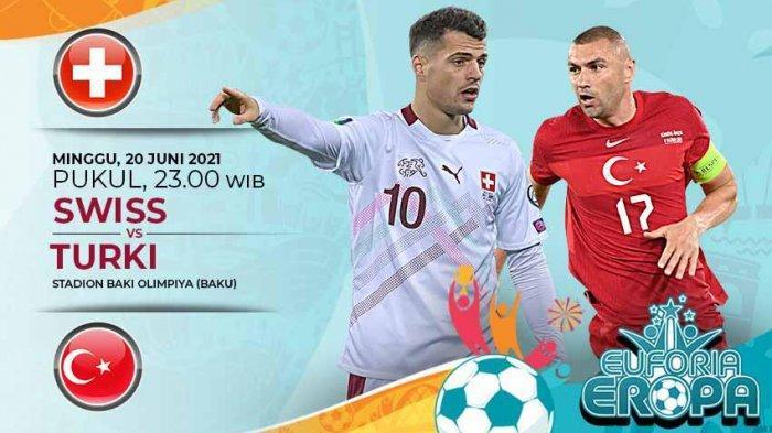 Live Stream Turki Vs Swiss Sedang Tayang, Hasil Euro 2020 Italia Vs Wales Klasemen Grup A Terbaru