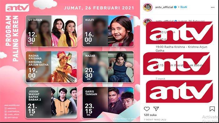 LIVE Streaming ANTV Hari Ini Nonton Acara ANTV Sekarang Live Jumat 26 Februari 2021 | Mivo.com ANTV