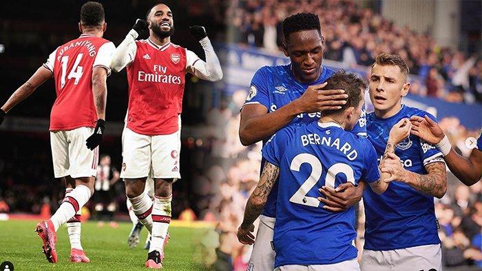 LIVE Streaming Arsenal Vs Everton Liga Inggris Live Mola Tv, Adu Jitu Mikel Arteta Vs Ancelotti