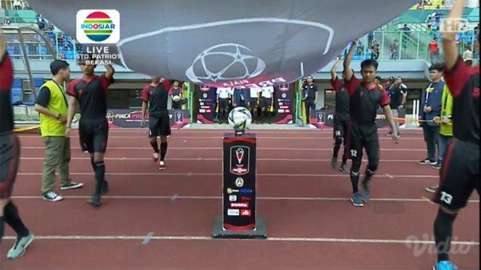LIVE Streaming Indosiar Piala Presiden 2019, Hamka Hamzah Gandakan Keunggulan Arema atas Bhayangkara