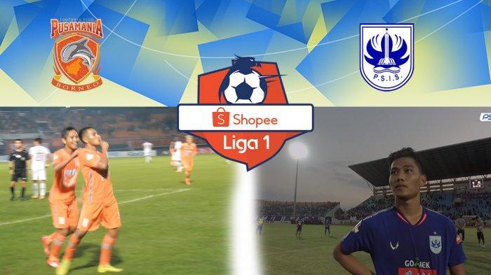 Live Streaming Borneo FC Vs PSIS Semarang Jam 18.30 WIB, Adu Kuat Tanpa Pemain Utama Liga 1