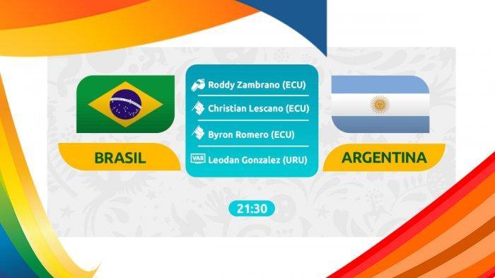 Live Streaming Brazil Vs Argentina Semifinal Copa America 2019 & Prediksi Skor Argentina Vs Brazil