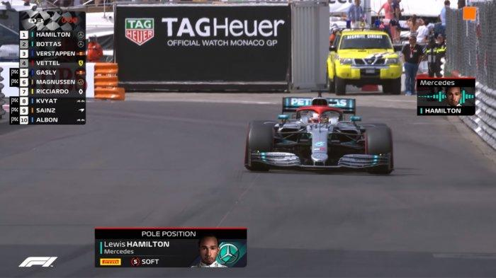 Live Streaming F1 Monaco 2019, Lewis Hamilton Pole di Starting Grid Formula 1 Monako 2019