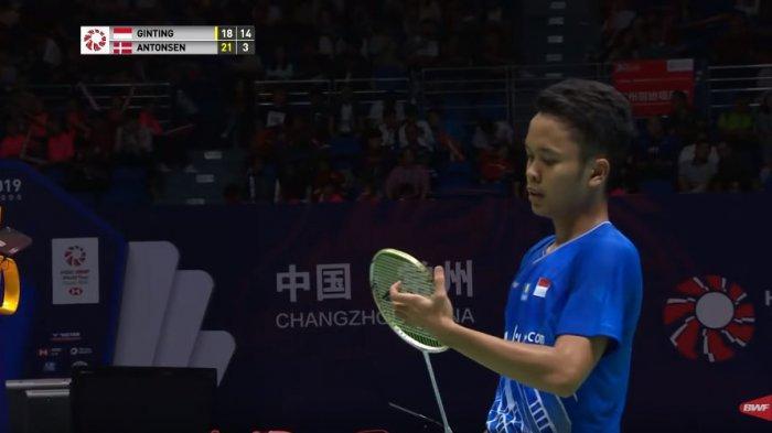 Live Streaming Final China Open 2019 di TVRI dan HDTVKU, Anthony Ginting Vs Kento Momota Jam 12.00