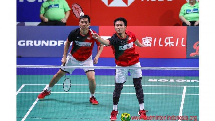 Live Streaming Final Denmark Open 2019 HDTVKU: Marcus/Kevin Vs Ahsan Hendra TVRI Streaming