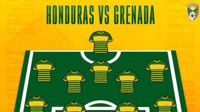 Live Streaming Honduras vs GrenadaPiala Emas CONCACAF 2021 Hari Ini Live Mola TV