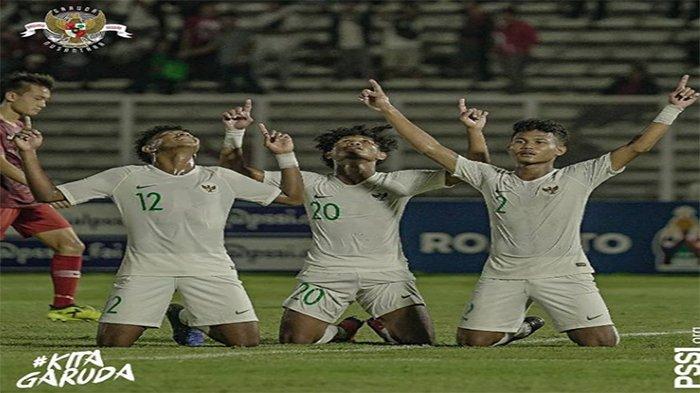 Live Streaming Indonesia Vs Korea Utara Kualifikasi Piala Asia U-19 2020, Streaming RCTI & Mola TV