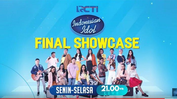 INDONESIAN IDOL Live Streaming RCTI, Sedang Tampil Para Kontestan di Babak Final Showcase