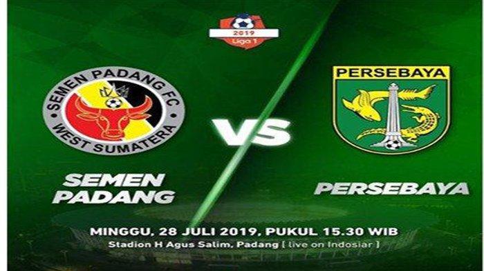 Sedang LIVE INDOSIAR - Semen Padang Vs Persebaya, Skor Sementara 0-0, Cek Link Streaming & Score
