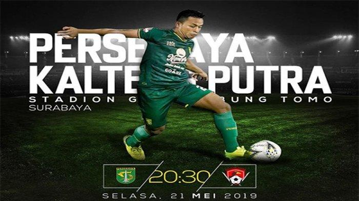 Sedang Berlangsung Live Streaming Persebaya Vs Kalteng Putra Shopee Liga 1 2019 di Indosiar