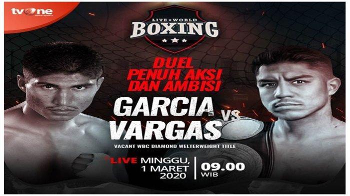 Live Streaming Jessie Vargas vs Mikey Garcia, Streaming Live World Boxing TVOne