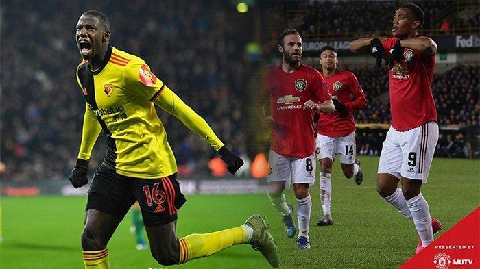 LIVE Hasil Man United Vs Watford Liga Inggris, Minggu (23/2),Bruno Fernandes Jadi Pembeda Skuad Ole