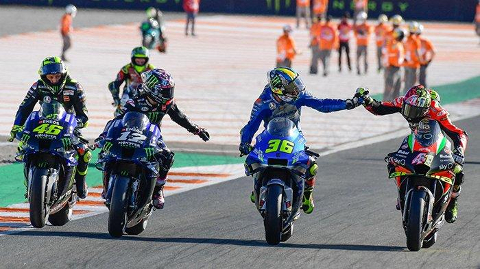 JELANG Jadwal MotoGP 2021 Live Trans7 - Pembangunan Sirkuit MotoGP Mandalika Maju Pesat