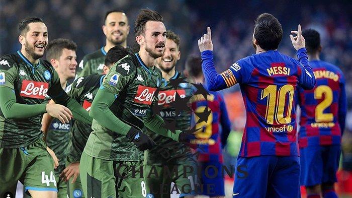 LIVE Streaming Napoli Vs Barcelona Liga Champion Babak 16 Besar,Quique Setien dan TraumaBlaugrana