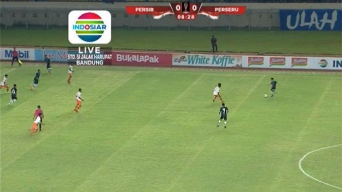 LIVE Streaming Persib Bandung Vs Perseru Serui di Piala Presiden 2019, Kedua Tim Saling Serang