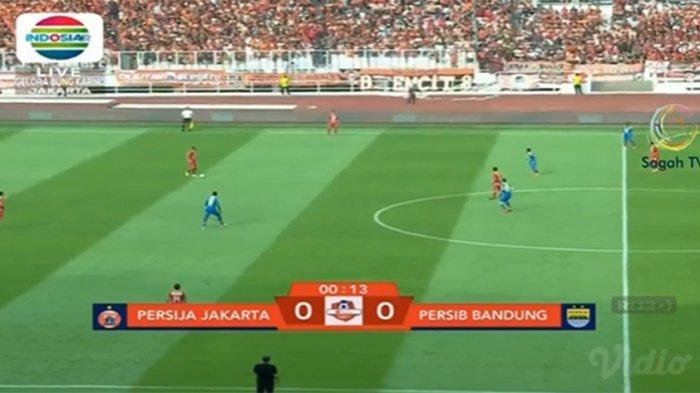 LIVE STREAMING Persija Vs Persib Super Big Match Liga 1 2019, Sedang Berlangsung Babak Pertama