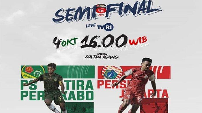 LIVE STREAMING Persija Vs PS Tira Semifinal Elite Pro Academy Liga 1 U16 Live Mola TV & LIVE TVRI