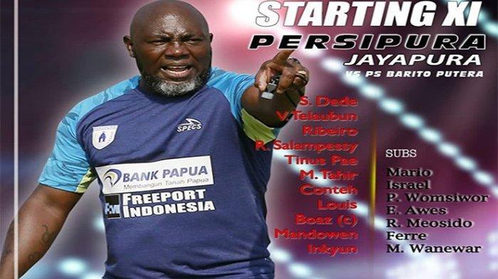 Live Streaming Persipura Vs Barito Putera Liga 1, Live Streaming UseeTV & Live Vidio.com, Target AFC