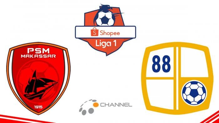 Live Streaming PSM Makassar Vs Barito Putera Liga 1 2019 di Ochannel, Mulai Berlangsung Jam 15.30