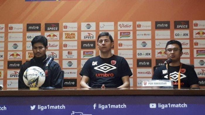 Live Streaming PSM Makassar Vs PSS Sleman Liga 1, Susunan Pemain di Laga Perpisahan Darije Kalezic