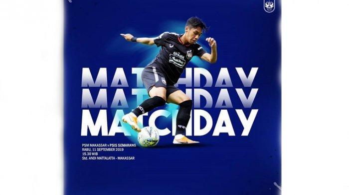 LIVE STREAMING PSM Vs PSIS Semarang Shoppe Liga 1, Debut Ezra Walian, Jonathan & Comeback Frendi S