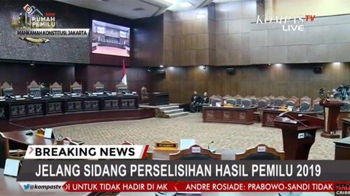 LIVE STREAMING Sidang Sengketa Pilpres 2019 di MK! Ini Daftar Lengkap Tim Hukum Jokowi dan Prabowo