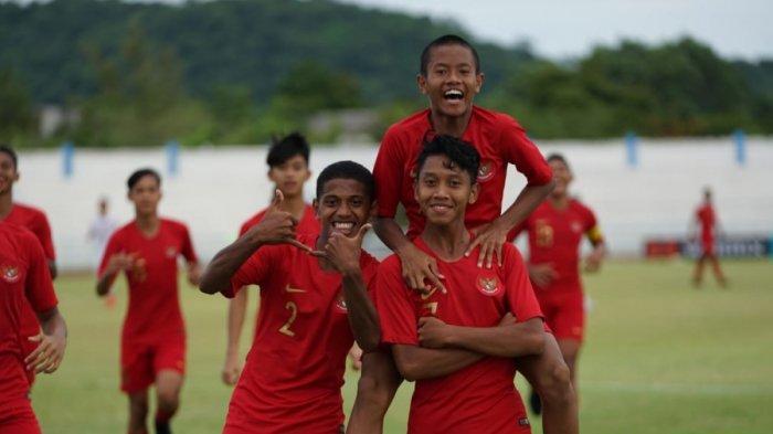 Live Streaming Timnas Indonesia Vs Filipina di MolaTV Kualifikasi Piala AFC U-16 2020 Jam 19.00 WIB