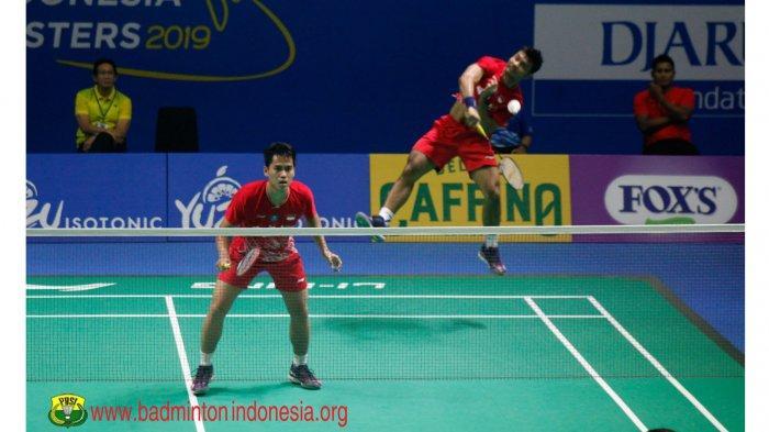 Live Streaming TVRI Badminton Yuzu Indonesia Masters 2019 Semifinal Mulai Berlangsung Jam 12.00 WIB