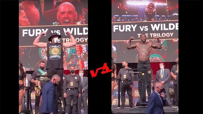LIVE Streaming Tyson Fury Vs Deontay Wilder III 10 Oktober 2021, Tv Online Indosiar hingga Vidio.com