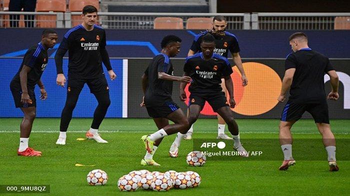 Live Streaming Vidio Inter Milan vs Real Madrid Liga Champion Malam Dini Hari Ini