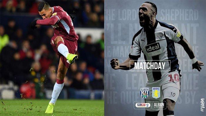 LIVE STREAMING West Brom Vs Aston Villa (1-2 Leg 1) | Championship Play Off Leg 2 LIVE Jam 02.00 WIB