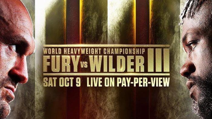Live Tinju Dunia Tyson Fury Vs Deontay Wilder Trilogi Berlangsung Pagi Ini
