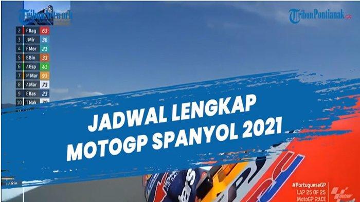 JADWAL MotoGP Spanyol Hari Ini Lengkap Jam Tayang MotoGP 2021 di Trans7