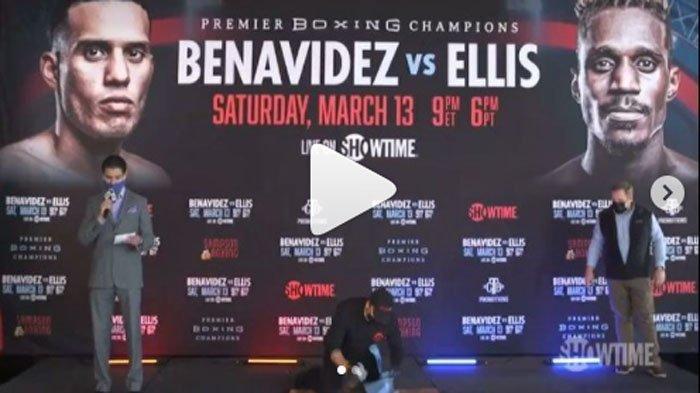 Live tvOne Benavidez Vs Ellis Siaran Langsung Tinju Dunia Juara WBC Minggu 14 Maret Jam 09.00 WIB