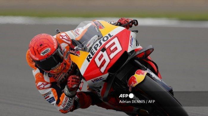 LIVE UPDATE Hasil FP1 MotoGP Hari Ini Gp Aragon 2021 Marc Marquez Terkencang, Joan Mir Tempel Ketat