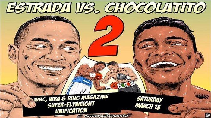 LIVE WORLD BOXING Estrada Vs Chocolatito Juara WBA dan WBC Live tvOne Benavidez Vs Ellis Minggu Pagi